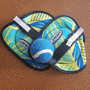 COOP Teal and Yellow Hydro Catch Ball Game